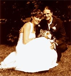 Katja und Wolfgang im Jahr 2000